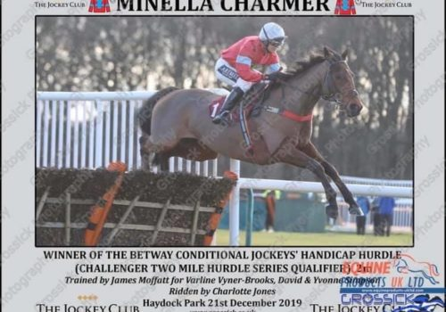 Minella Charmer wins at Haycock Park